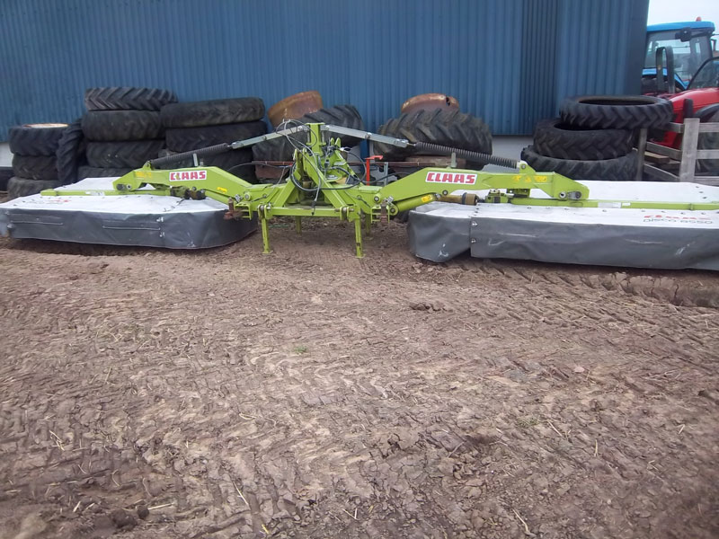Claas 8550 batwing disc mower